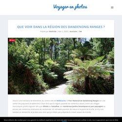 Que voir dans la région des Dandenong Ranges ? - Voyager en photos - blog voyage