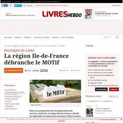 La région Ile-de-France débranche le MOTif