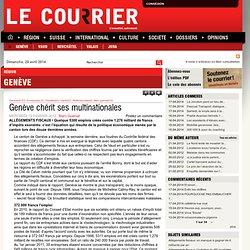 Genève chérit ses multinationales