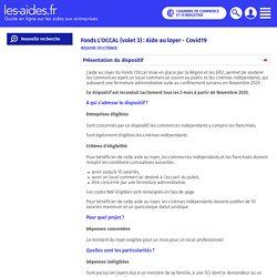 REGION OCCITANIE - Fonds L'OCCAL (volet 3) : Aide au loyer - Covid19