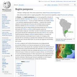 REGIÓN PAMPEANA