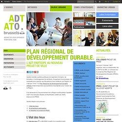 Plan Régional de Développement Durable
