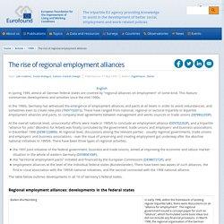 Regional Employment Alliance - Germany