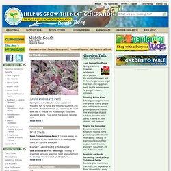 Regional Gardening Reports