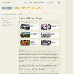 Regional History Project: UC-Santa Cruz