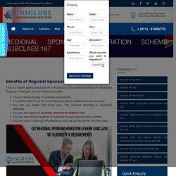 Regional Sponsored Migration Scheme Subclass 187 - Best Immigration Consultants