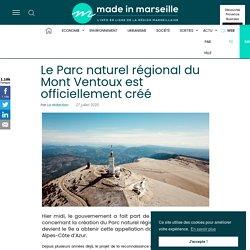 Le Parc naturel régional du Mont Ventoux est officiellement créé