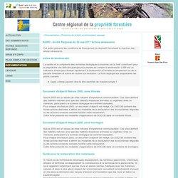 Centre Régional de la Propriété Forestière - Région Provence Alpes Côte d'Azur