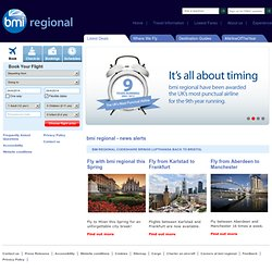 UK Flights to Europe, Middle East & Worldwide – bmi