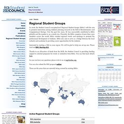 Regional Student Groups