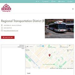 Regional Transportation District (RTD)