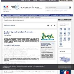 Mention régionale création d'entreprise - MRCE - ac-rennes.fr