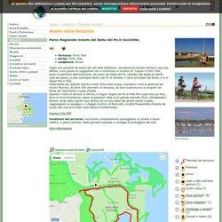Parco Regionale Veneto del Delta del Po: Itinerari ciclabili: Anello della Donzella