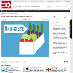 Öko-Kiste statt Aldi: 10 regionale Alternativen für gute Lebensmittel