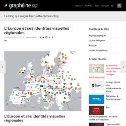 L'Europe et ses identités visuelles régionales - Graphéine - Agence de communication Paris Lyon