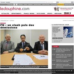 FN : un clash puis des démissions