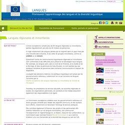Langues régionales et minoritaires - Commission européenne