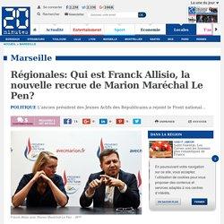 Régionales: Qui est Franck Allisio, la nouvelle recrue de Marion Maréchal Le Pen?