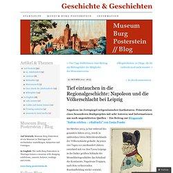 Tief eintauchen in die Regionalgeschichte: Napoleon und die Völkerschlacht bei Leipzig