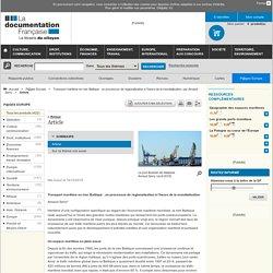 """""""Transport maritime en mer Baltique : un processus de régionalisation à l'heure de la mondialisation"""" A.Serry, 2015, P@ges Europe"""