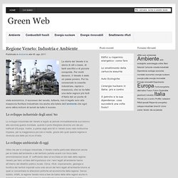 Veneto - Industria e Ambiente