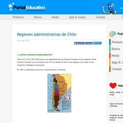 Regiones administrativas de Chile