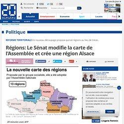 22-10-14-Régions: Le Sénat modifie la carte de l'Assemblée et crée une région Alsace