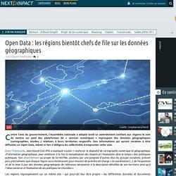 Open Data : les régions bientôt chefs de file sur les données géographiques
