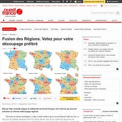Fusion des Régions. Votez pour votre découpage préféré
