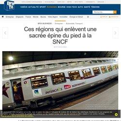 Ces régions qui enlèvent une sacrée épine du pied à la SNCF