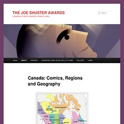 Canada: Comics, Regions and Geography