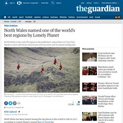 North Wales named one of the world's best regions by Lonely Planet