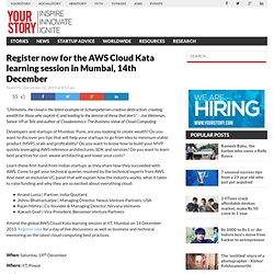 Register now for the AWS Cloud Kata learning session in Mumbai, 14th December