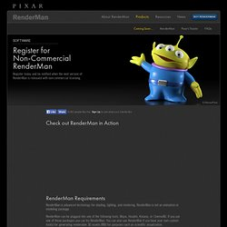 Register for RenderMan
