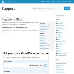 Register aBlog