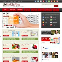 Nutrition Advice by Registered Dietitians - HealthCastle.com - StumbleUpon