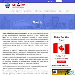 ICCRC Registered Authorized Immigration Consultant Ami Mehta - SIIS Canada