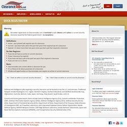Clearance Jobs.com
