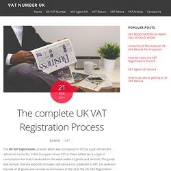 UK VAT Registration - The complete Process
