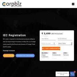 IEC Code Registration Process