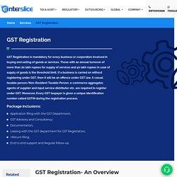 Online GST Registration: GST Registration Process Eligibility, Fees