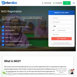 Register an NGO in India