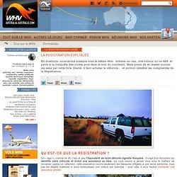 Acheter une voiture en Autralie : la Registration expliquée