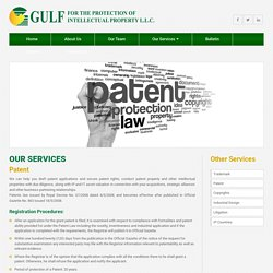 Patent Registration in Oman