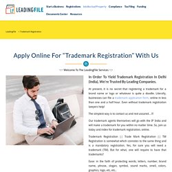 Check & Search TM Status Online: LeadingFile