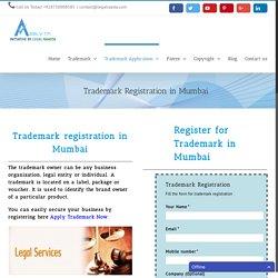 Trademark Registration in Mumbai - Apply Trademark - LegalRaasta