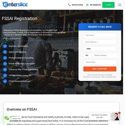 FSSAI Registration online in india - Enterslice