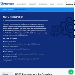 Apply NBFC License with RBI