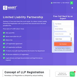 Register Limited Liability Partnership Firm in India