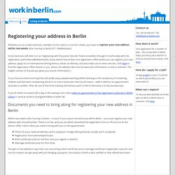Registration - Work in Berlin.com